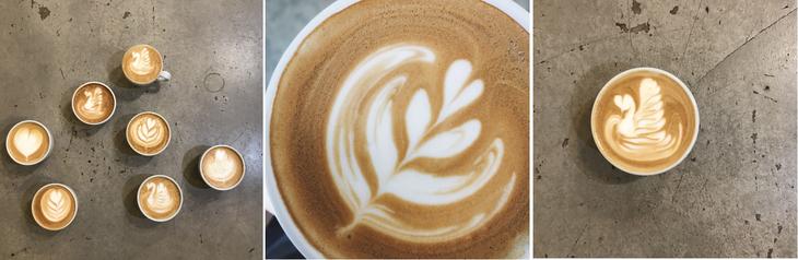 拿铁咖啡拉花艺术进阶篇-咖报